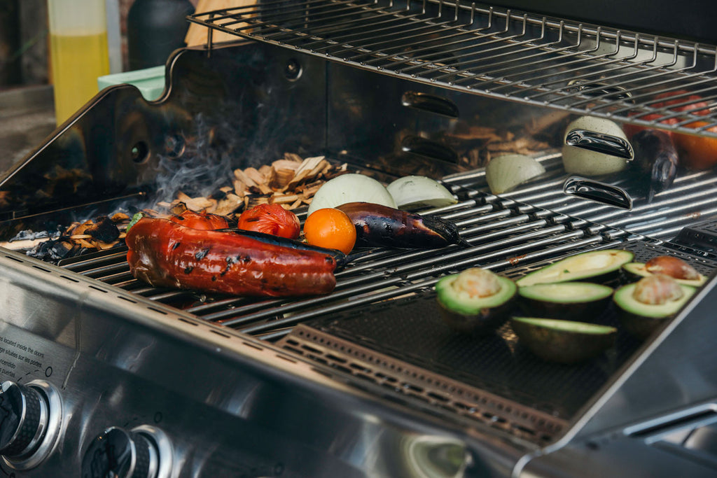 grilling over indirect heat