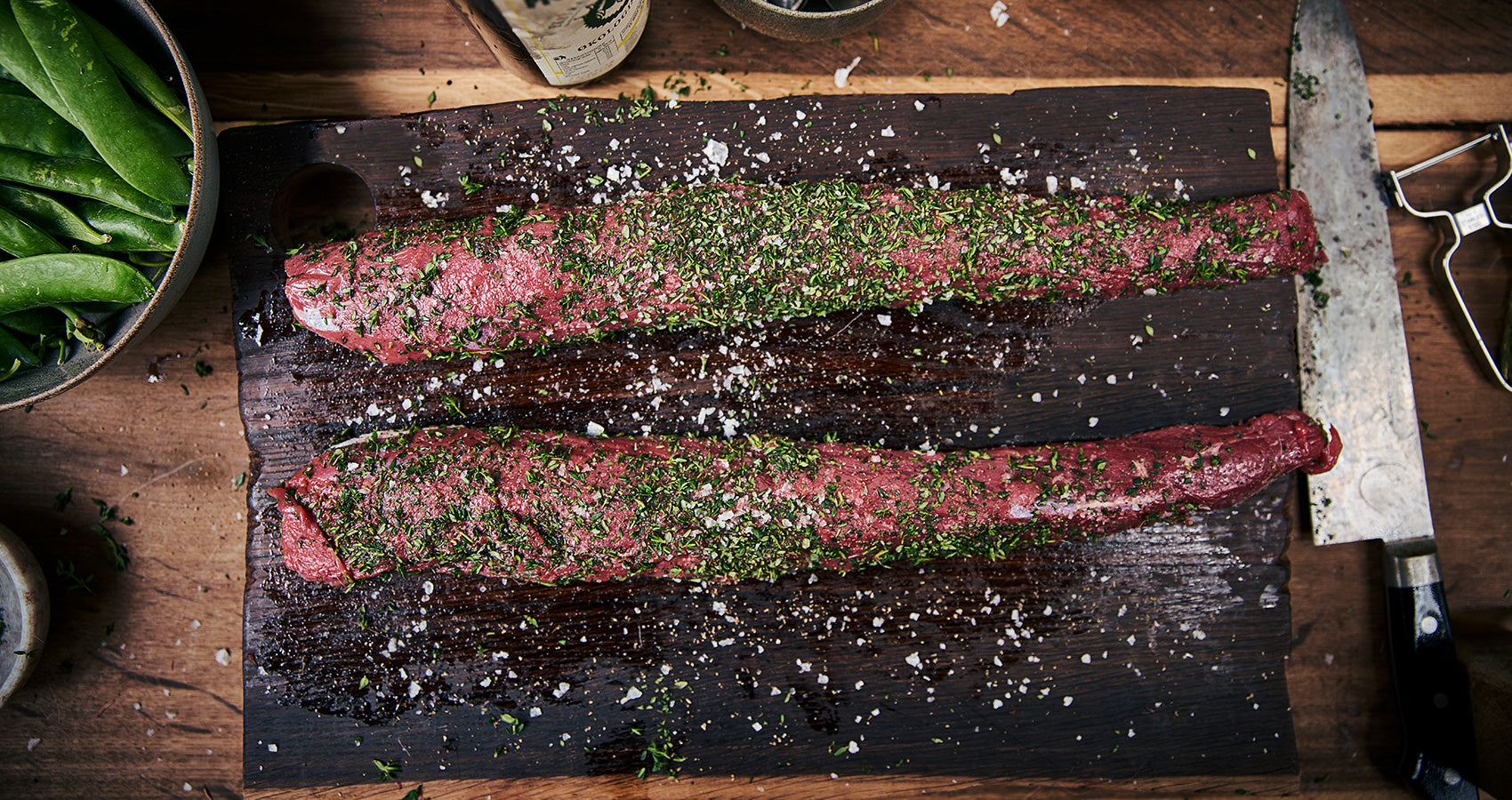 nexgrill grill seared carpaccio