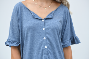 Comfy Oversized Flouncy Top