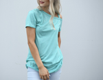Peek-a-Boo Shoulder Tie Top
