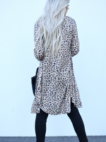 Long Camo and Leopard Duster