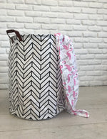 Printed Canvas Baskets | 18 Prints