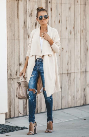 High Low Cardi