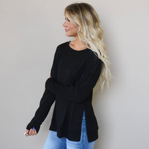 Slit Side Blair Top
