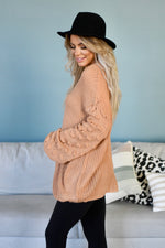 Lola Bubble Sleeve Sweater