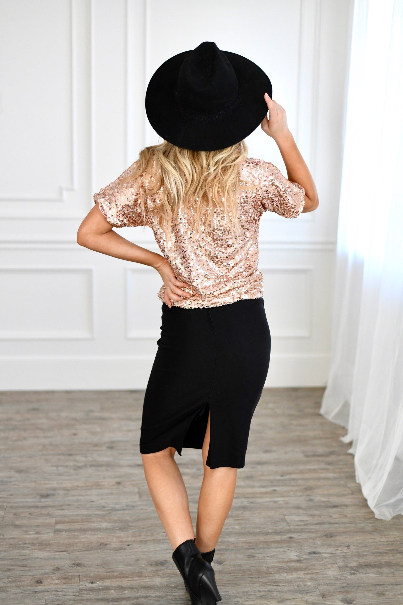 Shimmer and Glam Top