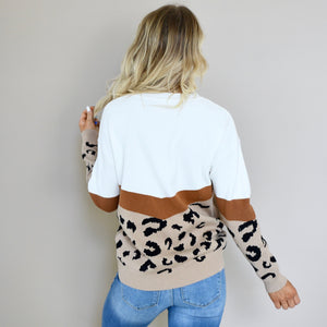 Alexis Leopard Sweater