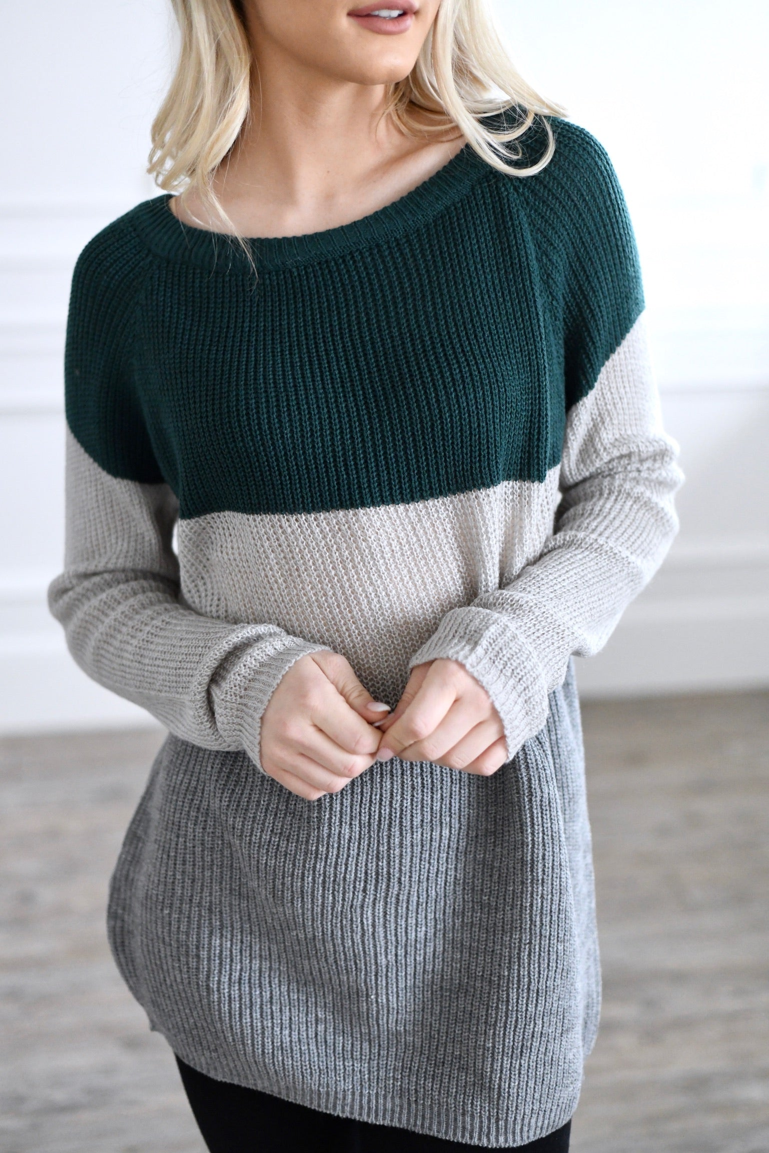 Boat Neck Lonnie Sweater
