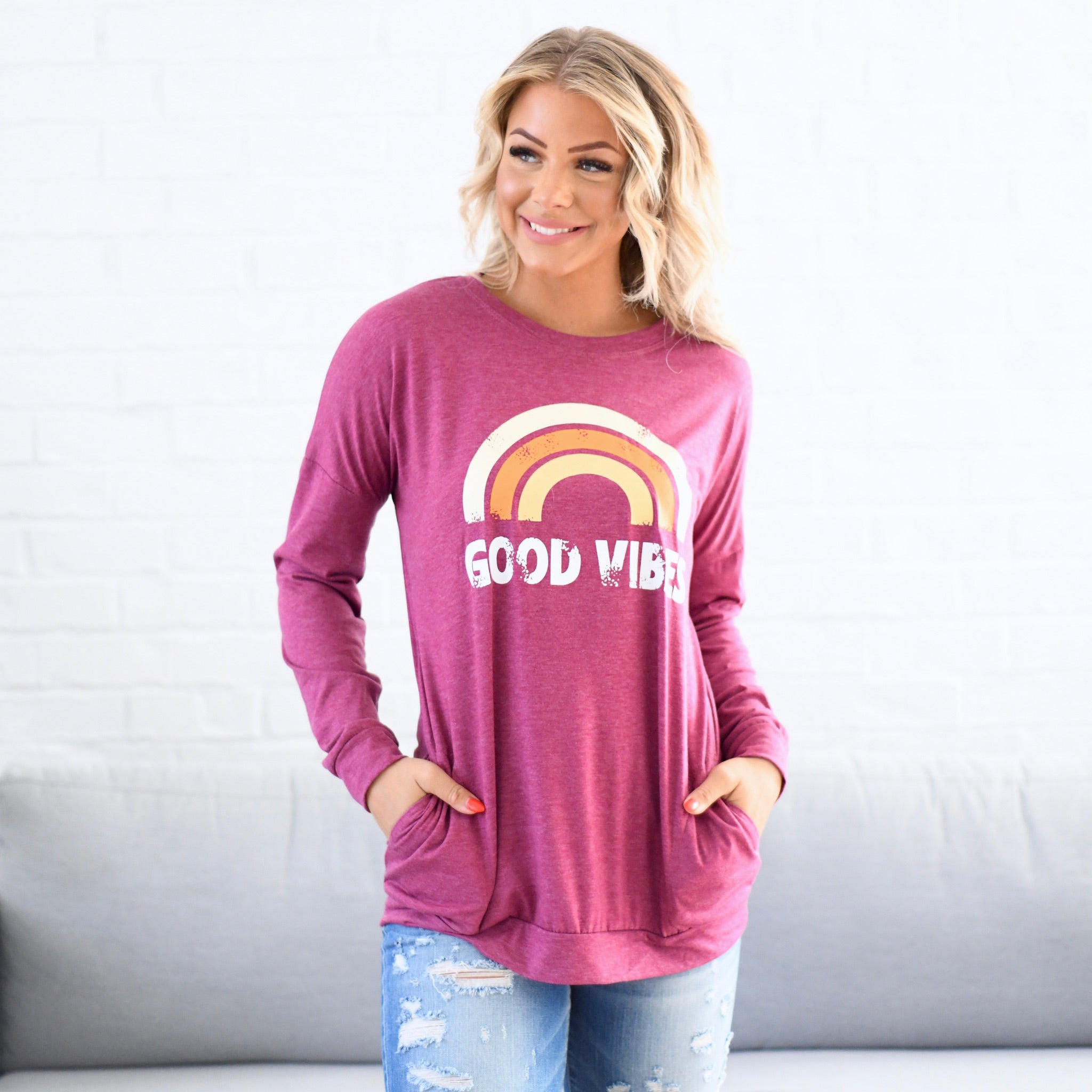 Good Vibes Top