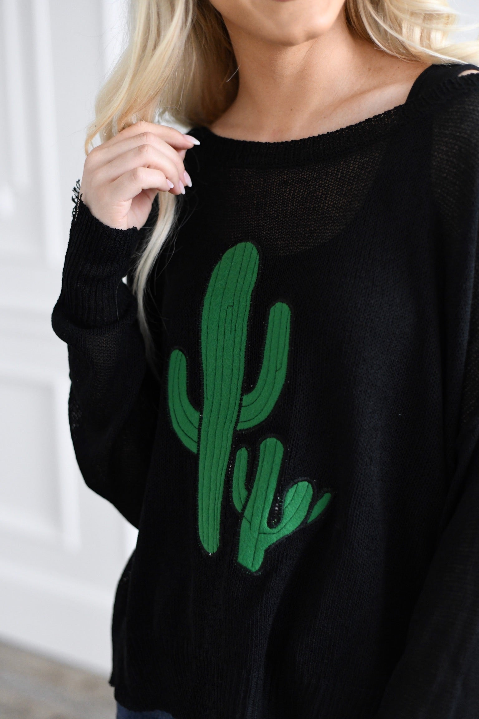 Cactus Long Sleeve Top