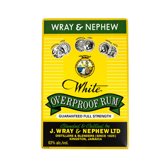 Wray & Nephew Tin Sign