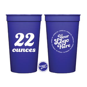 CUSTOM 22 OZ STADIUM CUPS - Impress Me