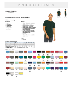 Bella + Canvas 3001 Men's T-shirt