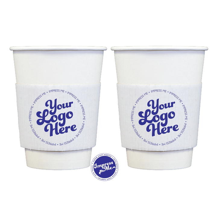 Custom Coffee Sleeves for 10-20 oz Cups - Impress Me