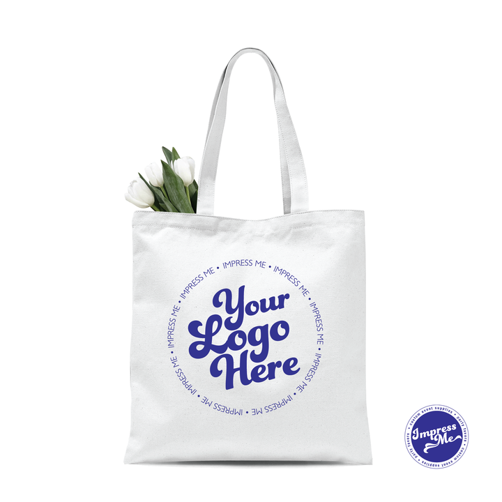 Custom Canvas Tote Bag - Impress Me