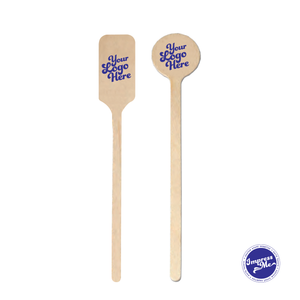 Custom Bamboo Stir Sticks - Impress Me