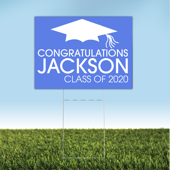 Personalized Graduation Yard Sign 04