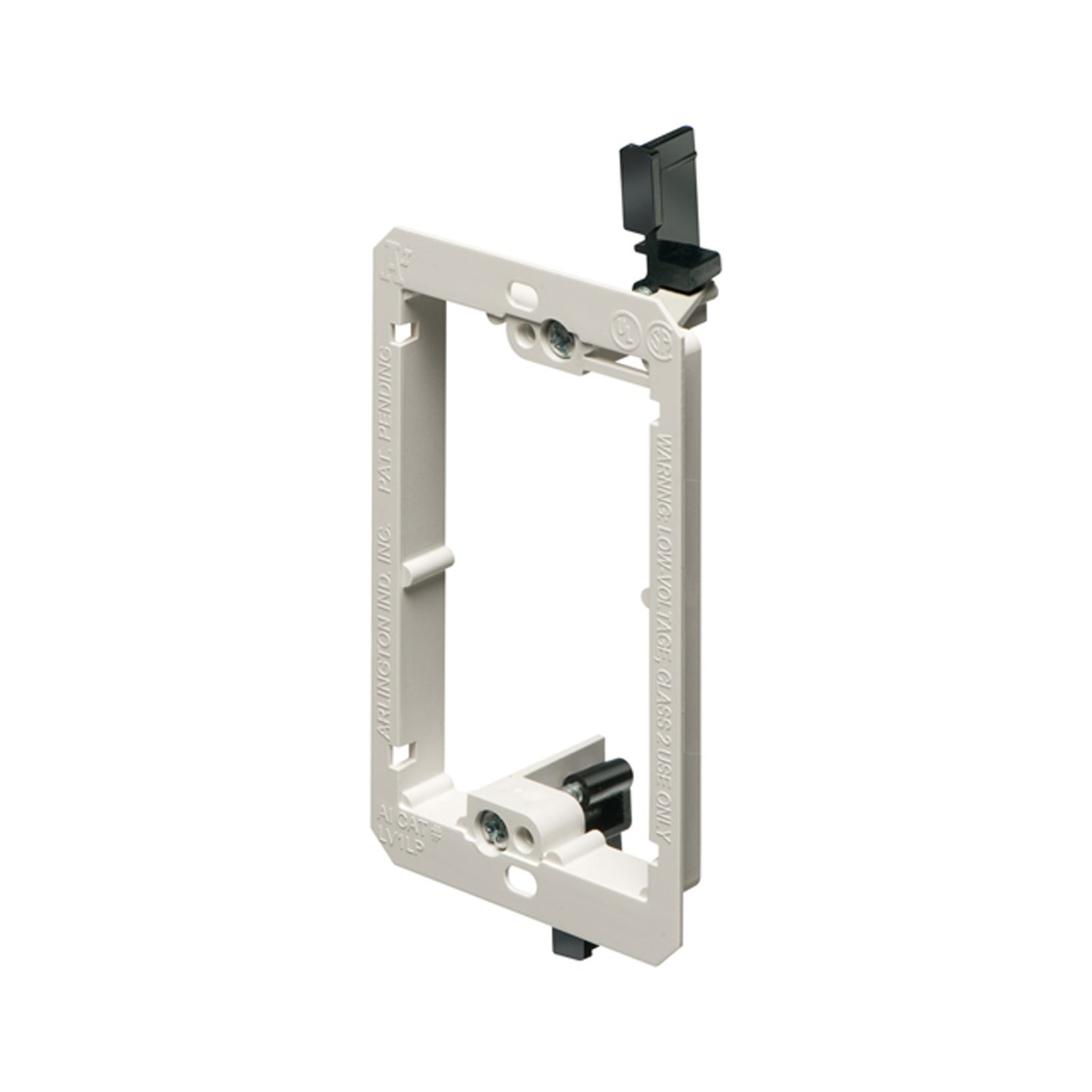 Arlington LV1LP / LV2LP /  Low Voltage Mounting Bracket, Non-Metallic. White