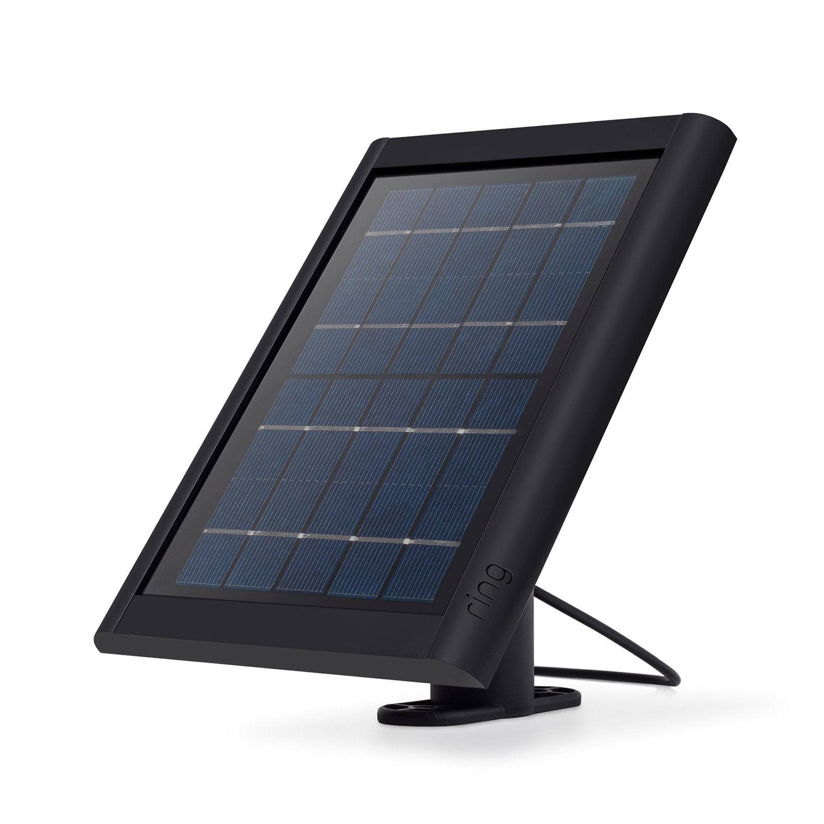 Ring Ring Solar Panel Compatible with Ring Spotlight Cam Battery and Stick Up Cam Battery