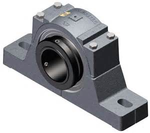 "3-15/16"" Diameter Sealmaster Pillow Block Roller Bearing - Carrier specific"