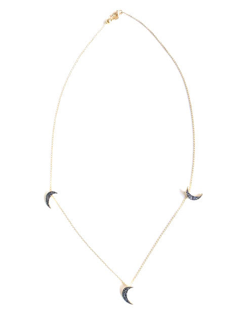 Diamond Moon Choker