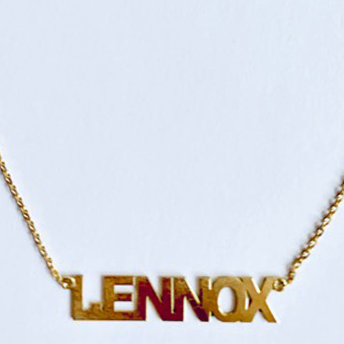 RIXO CHAIN 1 NAME TAG