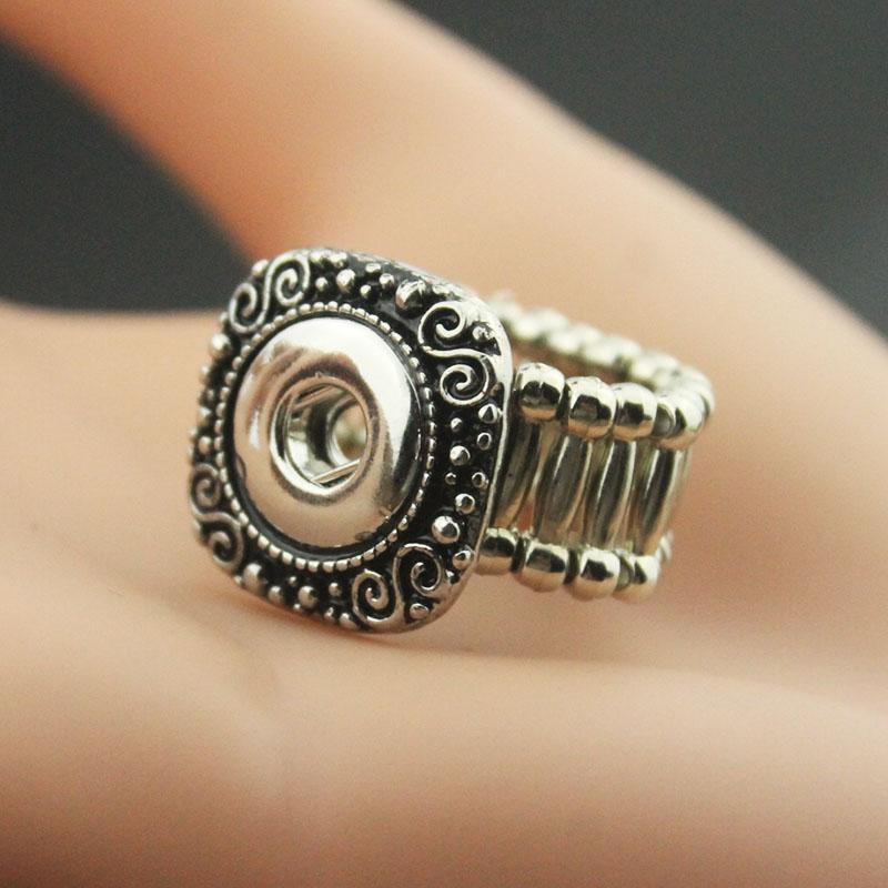 Snap Button Rings