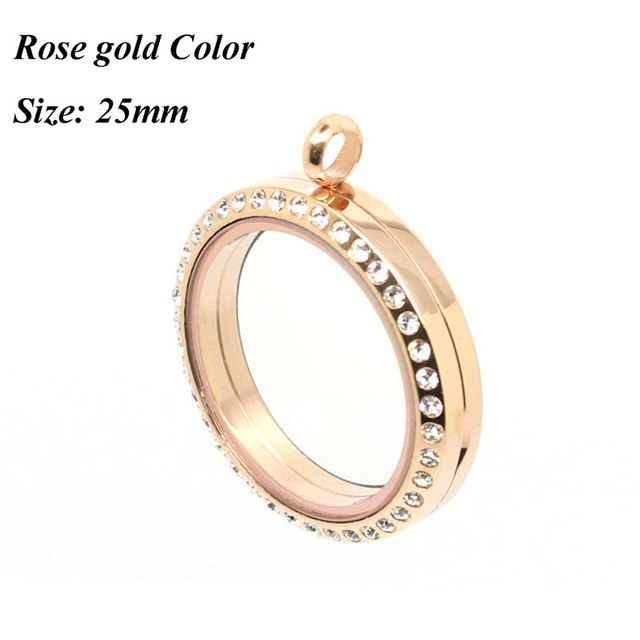 Rose gold stainless steel Fun Locket