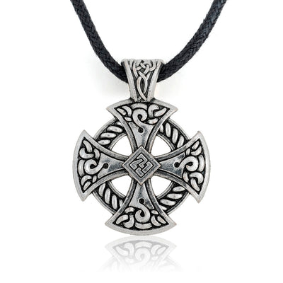 Viking Shield Necklace Tibetan Silver