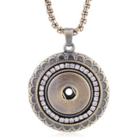 Snap Necklace Fits 18mm Button