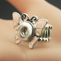 Butterfly Elastic Snap Ring Fit 12mm buttons