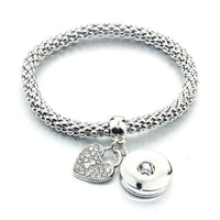 Mesh Bracelet Fits 18MM Button
