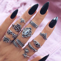 Bohemian Style 💍Rings Sets 10 pcs/Set