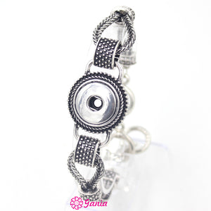 {10PCS/Lot } Link Bracelet Fit 18mm Buttons