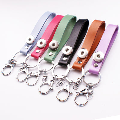 Snap Key Ring Fits 18mm Button