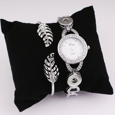 Wristwatch Just Add Your Favorite Size Snap on button