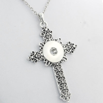 Filigree Cross Fit 18mm Button