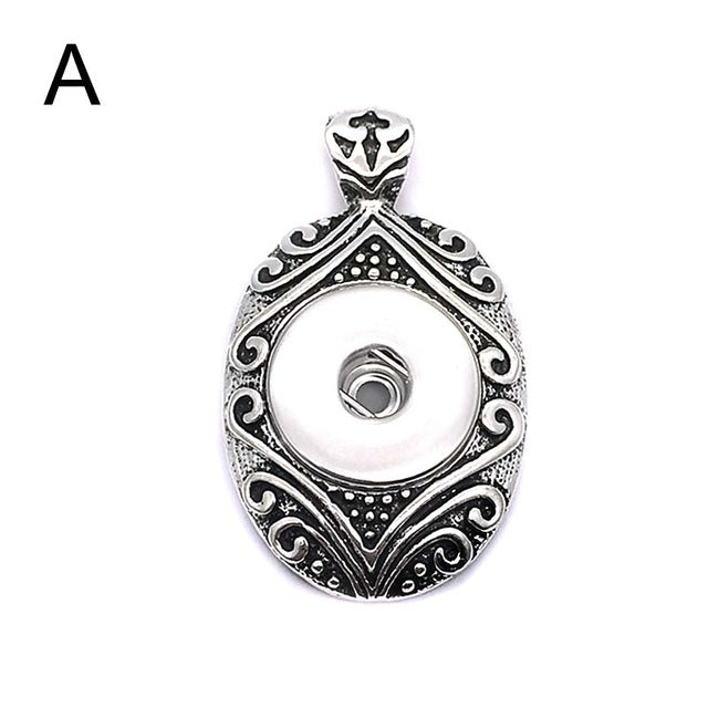 Snap Pendant or Necklace Fits 18mm Button