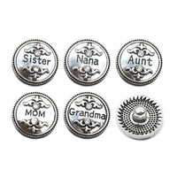 Personal Metal Button Fits 18mm Snap Accessories 10pcs Lot