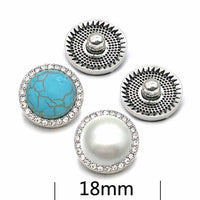 New Style Button 18mm 20mm Fits Snap Accessories
