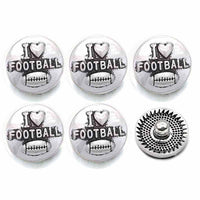 Fun and Insperational Buttons Fit 12mm Snap Accessories 10pcs LOT