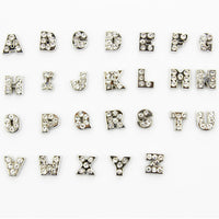 Letter Mix Floating Locket  Charms A-Z Alphabet 26pcs/lot