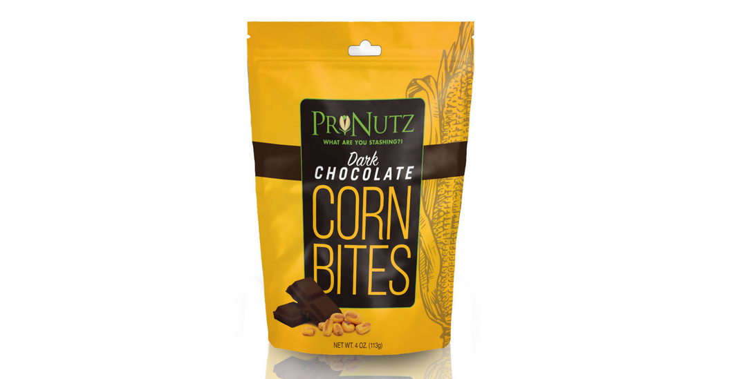 Dark Chocolate Corn Nutz 4 ( oz)- Pre-Order- Release Date 10/22/2020