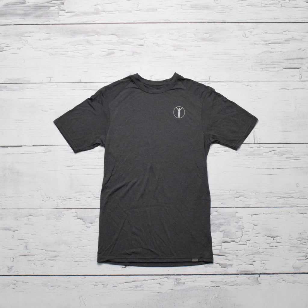 Active S/S Tee - Sm. Avatar (Black Heather)