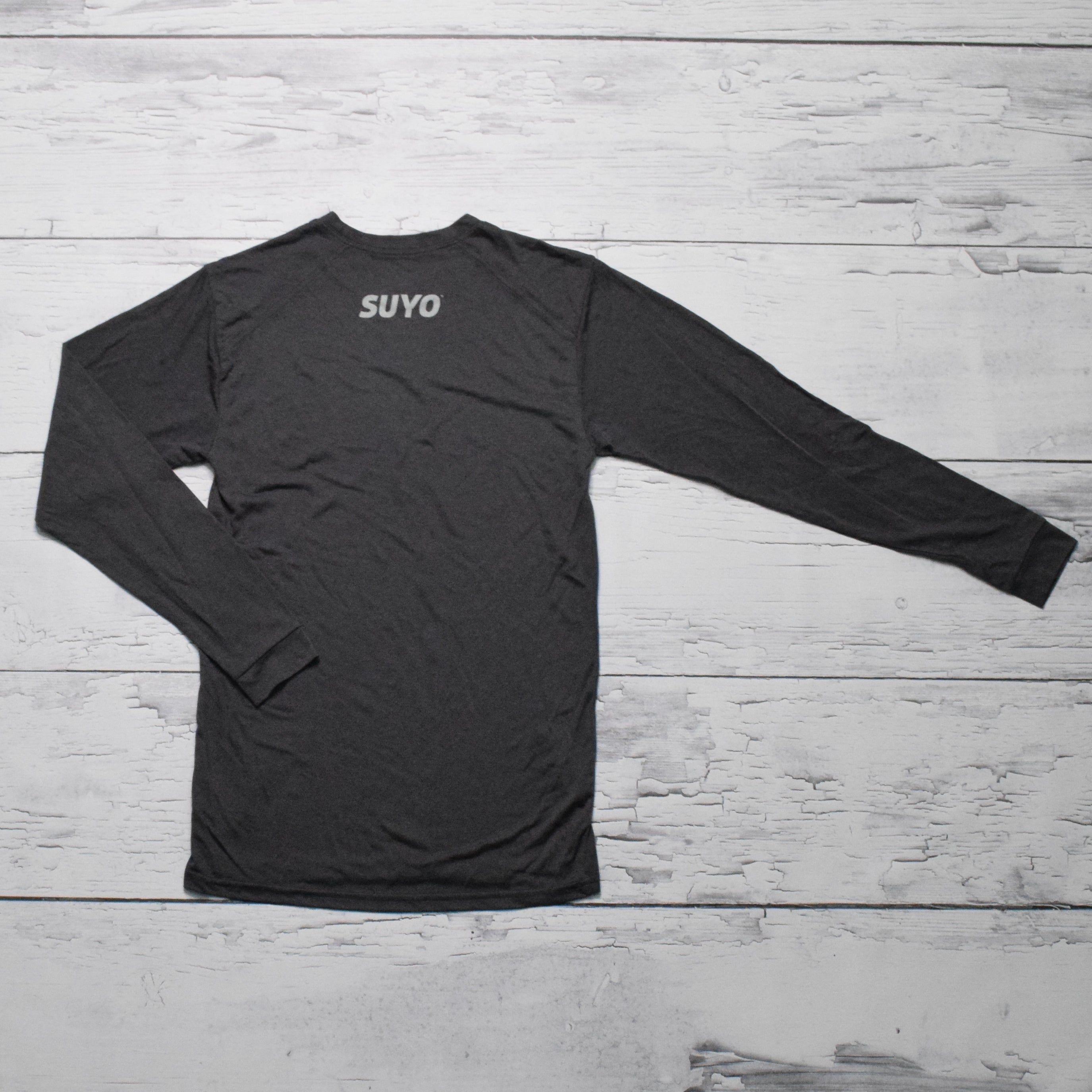 Active L/S Tee (Black Heather)