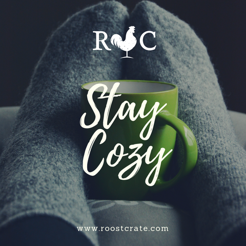 Roost Crate March subscription box Cozy