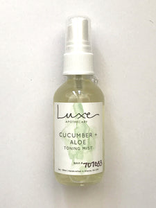 Luxe Apothecary Aloe & Cucumber Toning Mist