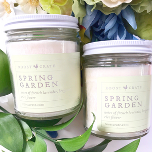 Roost Crate Candle Spring Garden