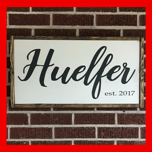 Name Custom Sign