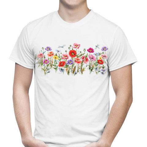 Poppy Party Art T-Shirt